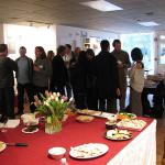 Design Center Hosts Reception for Riverscape Attendees on April 9, 2012.