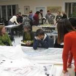 In collaboration with Springfield residents, students used their input to inform their site analysis and design recommendations for the Creating Livable Neighborhoods in Six Corners and Old Hill graduate studio.