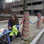 Students of Urban Design Studio showcase their Tactical Urbanism interventions to bring attention to underutilized spaces Downtown Springfield in 2015.