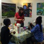 Sewing workshop at Make-It Springfield in 2016.