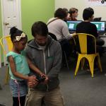 Quadcopters workshop at Make-It Springfield in 2016.