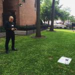 UMass Design Center director, Michael DiPasquale was flying a quadcopter.