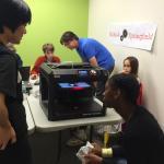 3D Printing workshop at Make-It Springfield in 2016.