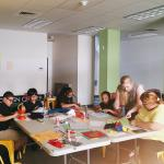 Electric Quilt workshop presented by UMass graduate student Christine Schwartz from Amherst Media at Make-It Springfield in 2016.