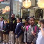With cameras in hand, students from Springfield's South End Community Center set out to look at urban design in the city's Apremont Triangle neighborhood.
