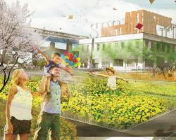 Redefining America's Postwar Urban Renewal at the Northgate of Springfield, MA - 2014