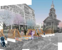 From Quadrangle to Square: Connecting Culture, Art, and Public Spaces in downtown Springfield, Massachusetts